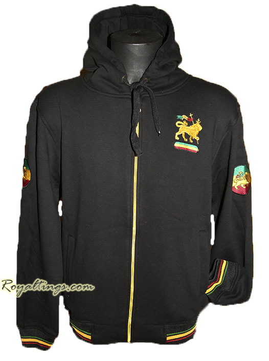 Thick Jacket rasta lion 4