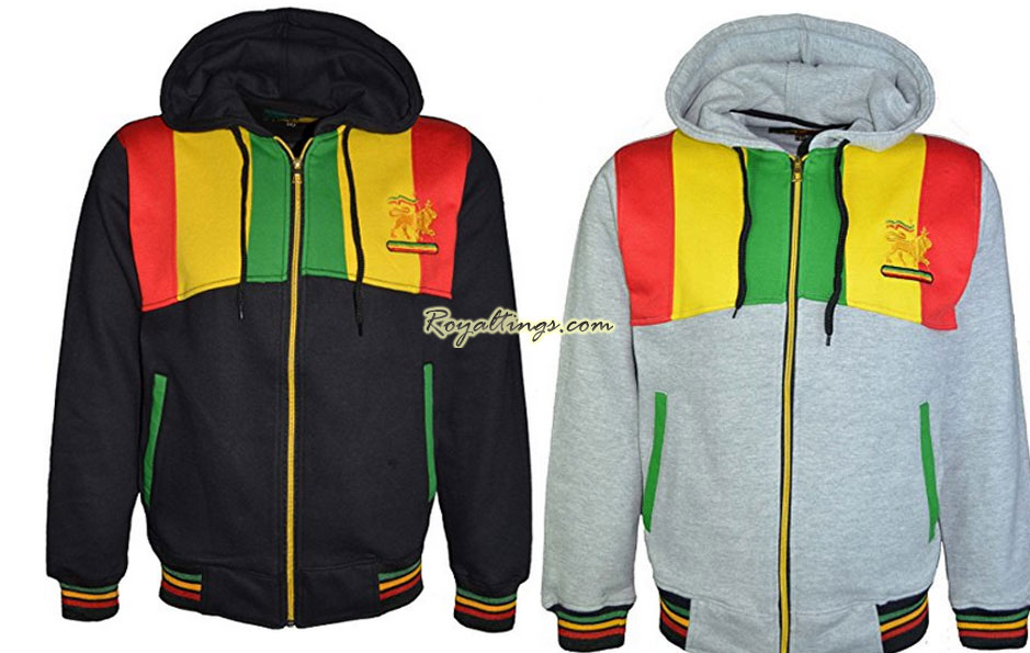Veste rasta épaisse Lion of Judah 4
