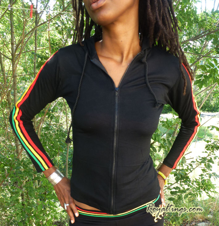 Empress jacket rasta