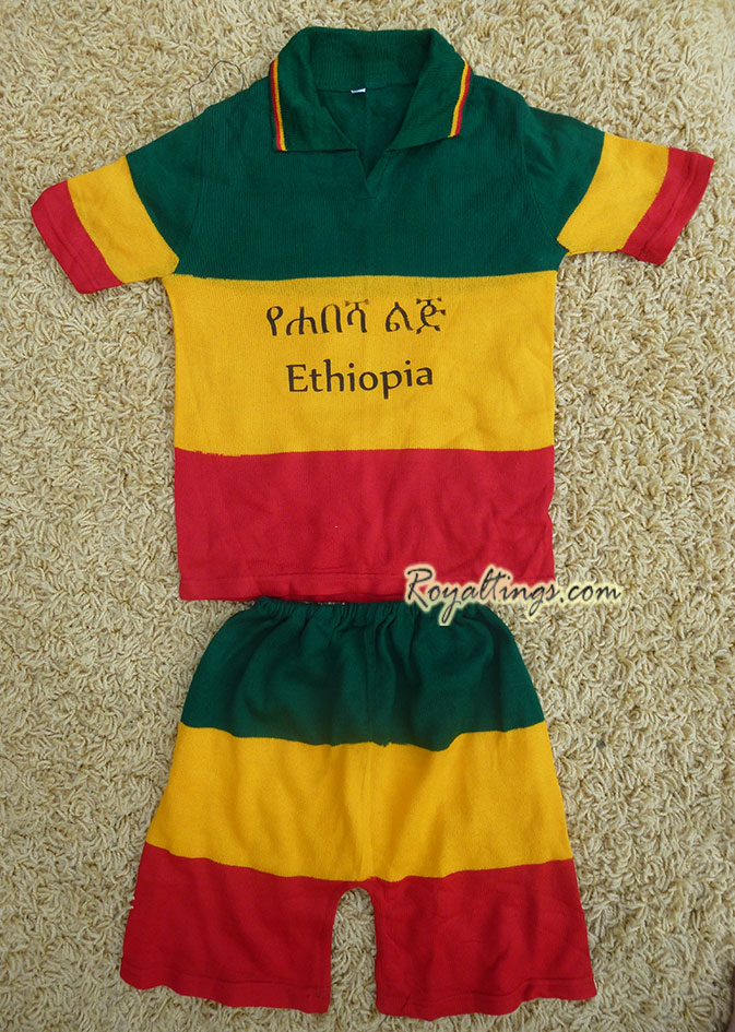 Ethiopian children suit 5 y old