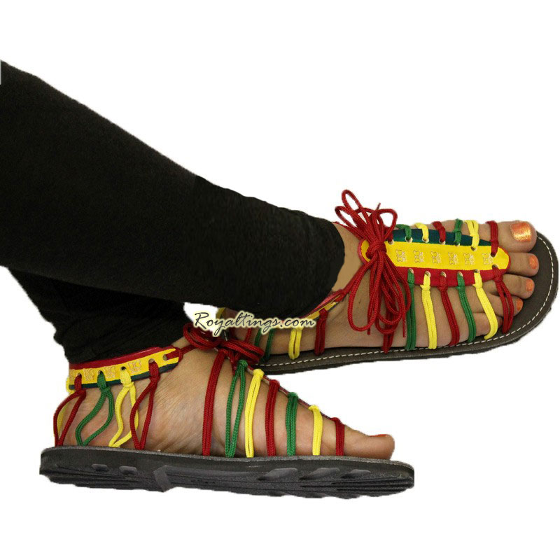 Rasta sandals tong woman
